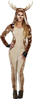 FunCostumes Womenu0027s Fawn Deer Woods Costume  sc 1 st  Amazon.com : reindeer fancy dress costume  - Germanpascual.Com