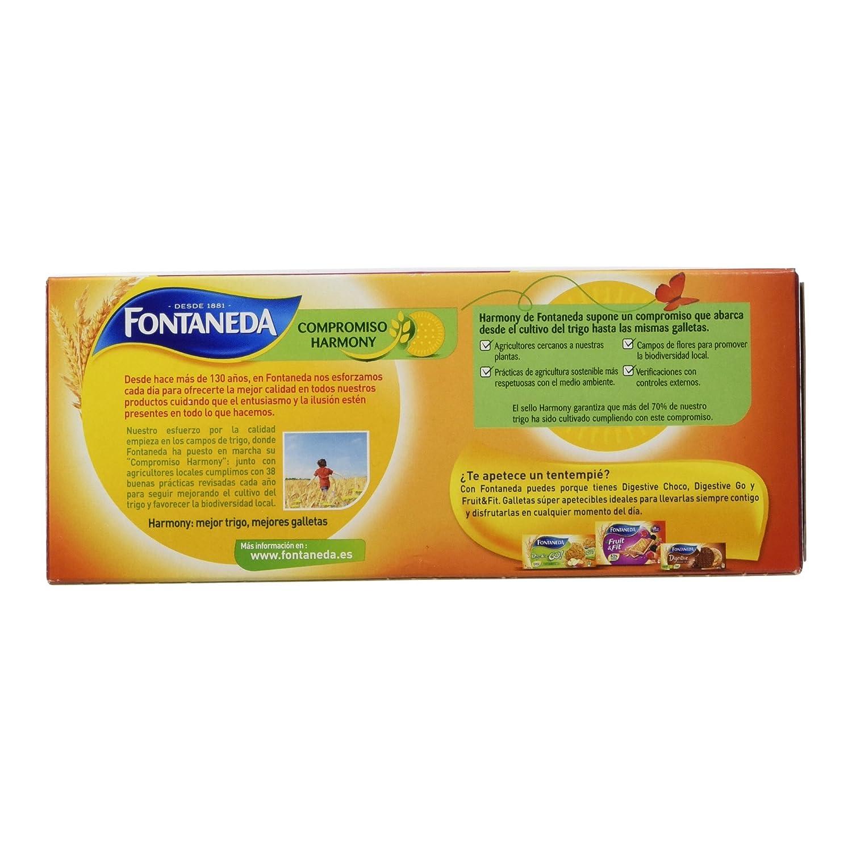Fontaneda Digestive Galletas de Frutas del Bosque - 250 g