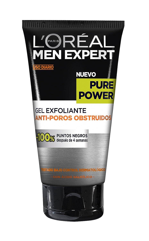 L Oreal Paris Men Expert Gel Exfoliante Anti Poros Obstruidos Pieles Rebeldes