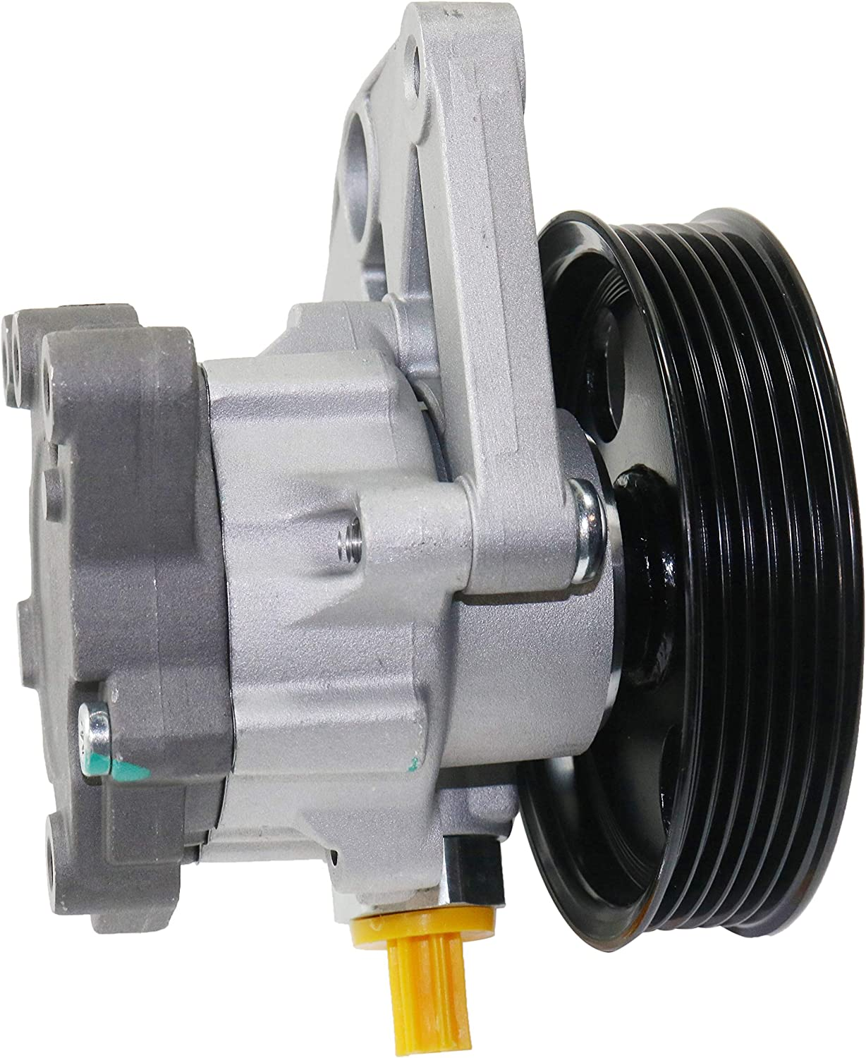 Power Steering Pump Compatible With 2008-2010 Mercedes Benz C350 /& C300 With Pulley