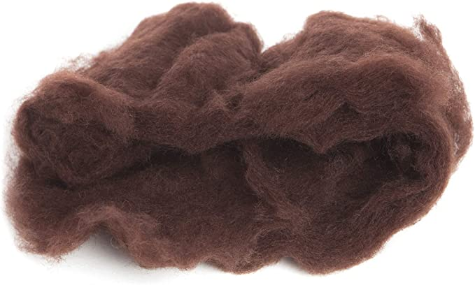 100/% Pure Wool Color Leaf Green 1 OZ Carded Wool Batt A Special Blend of New Zealand Wools by DHG for Needle Felting and Wet Felting Maori Wool