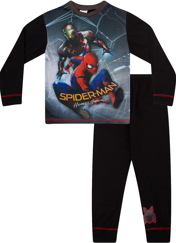 Boys Spiderman HomeComing Movie Pyjamas Iron Man Pjs Spider Man PJ