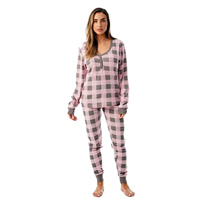 #followme Large, Red and Black, flannel pajamas at Women's Clothing store