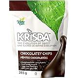 Krisda Semi Sweet Chocolatey Chips - Sweetened with Stevia, 285 grams