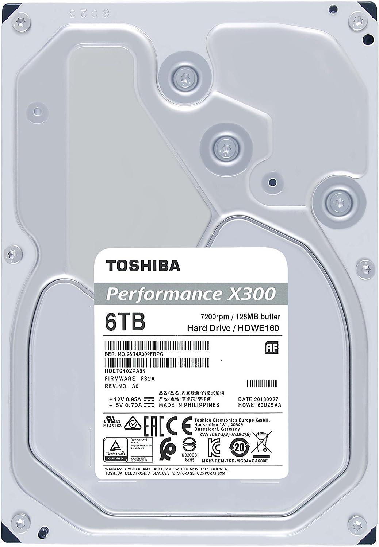 **BAD SECTORS** Toshiba X300 5TB Hard Drive 7200 RPM SATA 6Gb//s MD04ACA500