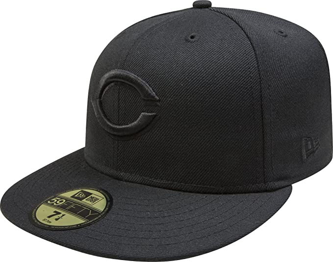 cheap for discount 8e494 f7696 ... shopping amazon new era cincinnati reds mlb fitted cap sports outdoors  e488e c6e6b