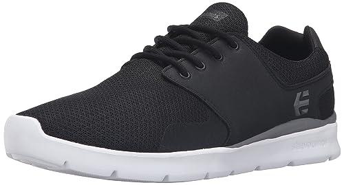 Etnies Men's Scout XT Skateboarding Shoe, Black/White/Grey, 5 UK (
