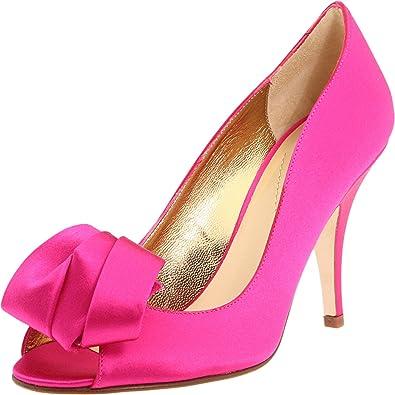 97f7821a9 kate spade new york Women's Clarice Hot Pink Satin Sandal: Buy ...