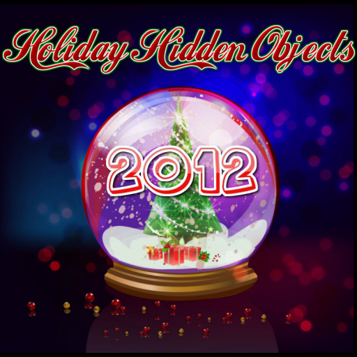 2012 Wreath - 2012 Holiday Hidden Objects