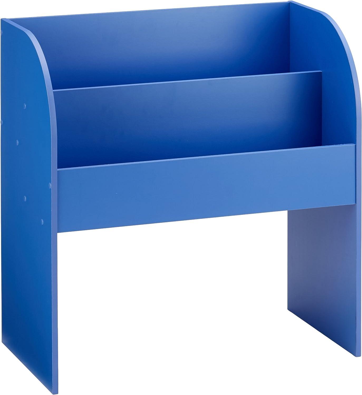 Iris Ohyama Kids Bench Coffre de Rangement pour Enfant 101,4 x 34 x 43,4 cm Bleu Bois