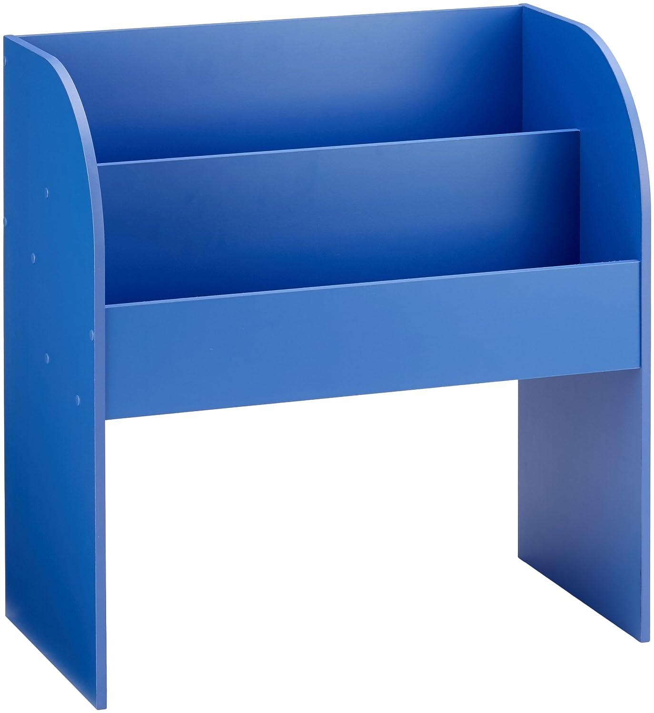 IRIS, Kinder Bücherregal 'Kids Bookshelf' mit Stauraum / Aufbewahrung, Holz, blau, 67,4 x 36 x 69,8 cm