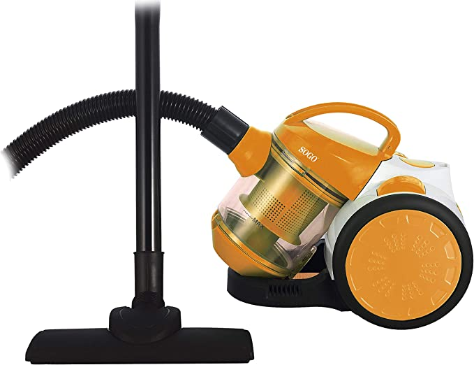 Aspiradora multi-ciclónica sin bolsa – 1L – 700 W – 120 W Succion – naranja: Amazon.es: Hogar