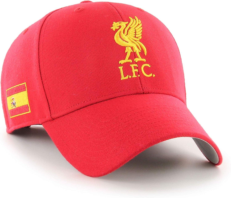 47 Liverpool FC Gorra LFC Adultos MVP España Bandera LFC Oficial: Amazon.es: Ropa y accesorios