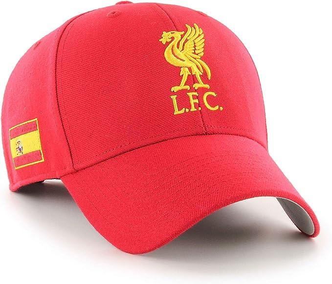 47 Liverpool FC Gorra LFC Adultos MVP España Bandera LFC Oficial ...
