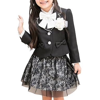 afa0b40070916  アリサナ arisana 入学式 女の子 スーツ 卒園式 子供服 フォーマル スカート アビー