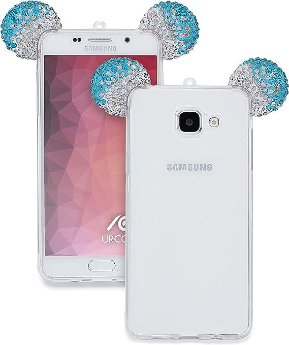 Urcover Funda Compatible con Samsung Galaxy A5 2016 Carcasa ...