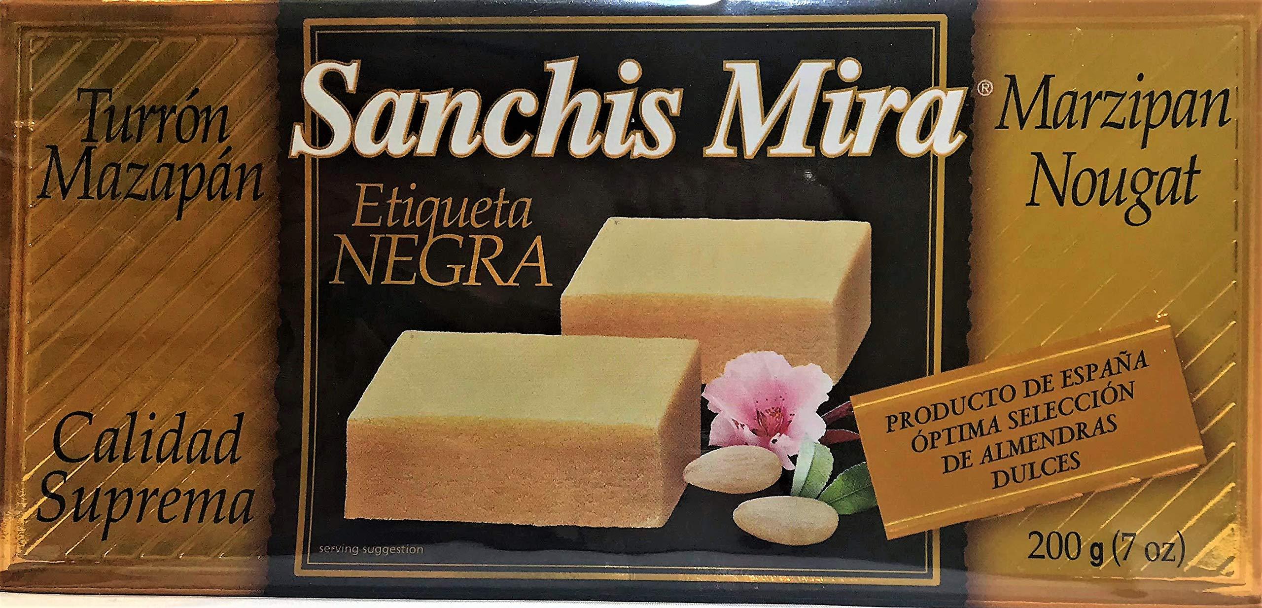 Sanchis Mira Turron de Mazapan 200 grs. (7oz.)