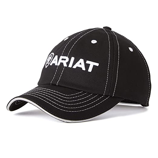 2642bb4245e ARIAT Team II Cap Black Size One Size at Amazon Men s Clothing store