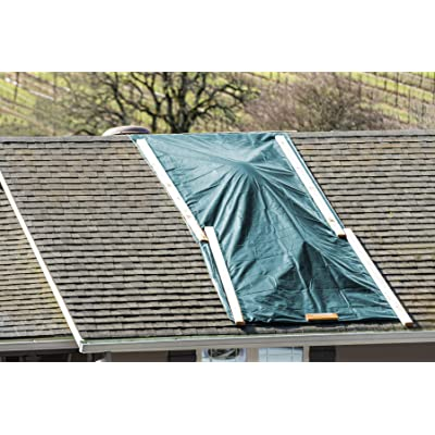 White, 9 feet x 12 feet Patio NONIO Heavy Duty UV Resistant Tarp,Multi Purpose Waterproof Tarp,for Roof Rain or Sun Camping Outdoor