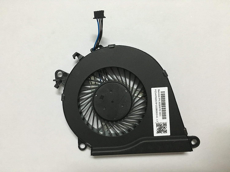 wangpeng Replacement Fan for HP Omen 15-AX 15-AX000 15-AX100 15-AX200 15-AX020CA 15-AX033DX 15-AX101TX 15-AX243DX Series CPU Cooling Fan P/N 858970-001