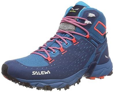 Damen Ws Ultra Wanderstiefel Salewa Mid Trekkingamp; Alpenrose Gtx N80myvOnw