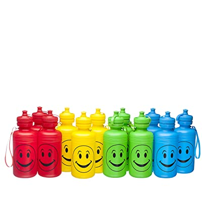Fun toys Kids Water Bottles One Dozen: Toys & Games