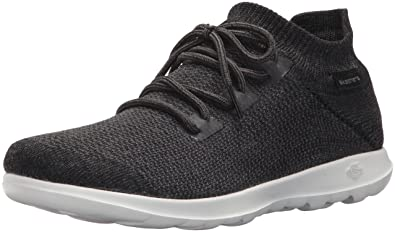 5a16271ff Skechers Performance Women's Go Walk Lite-15375 Sneaker,black/white,5.5 M