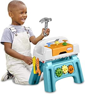 Little Tikes Play@Home First Tool Bench Pretend Workbench for Kids