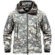 2765941ced1b7 TACVASEN Men s Special Ops Military Tactical Soft Shell Jacket Coat ...