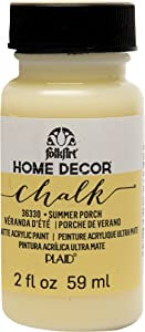 FolkArt 36330 Home Decor Chalk Furniture & Craft Paint in Assorted Colors, 2 ounce, Summer Porch