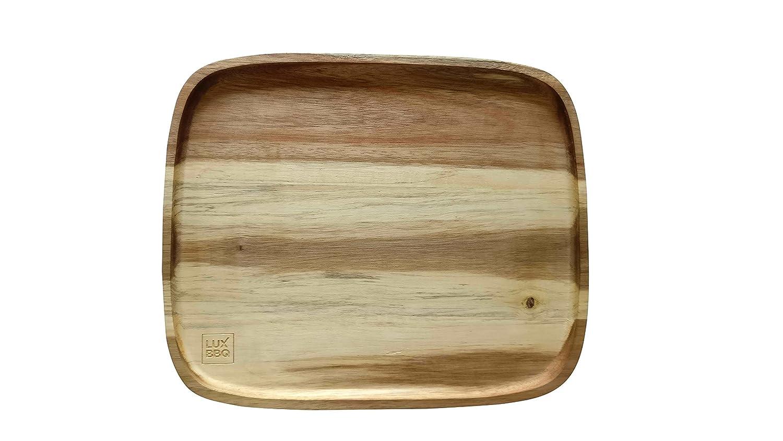 LUX BBQ Wooden Plate Moollen Living Inc.