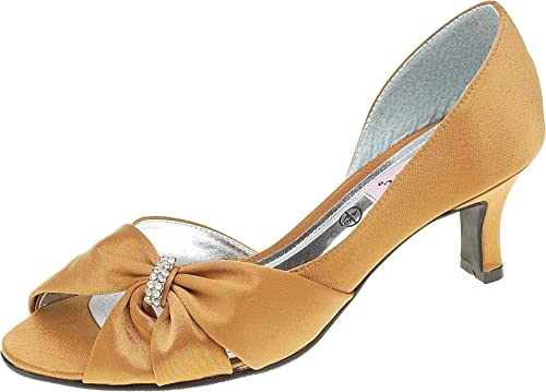 Ladies Wide Fitting peep Toe Shoe with