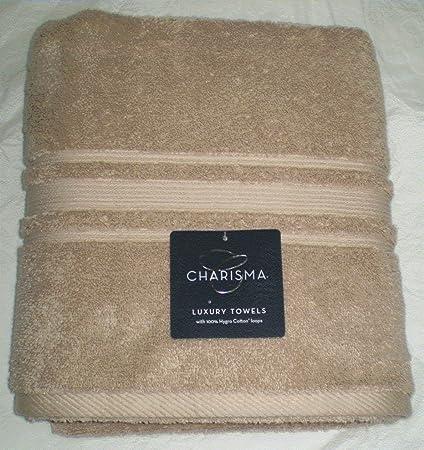 Amazon Com Charisma Luxury Bath Towel 100 Hygro Cotton Linen