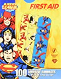 "Justice League 100CT Bandages 3/4x3"", DC Comics"