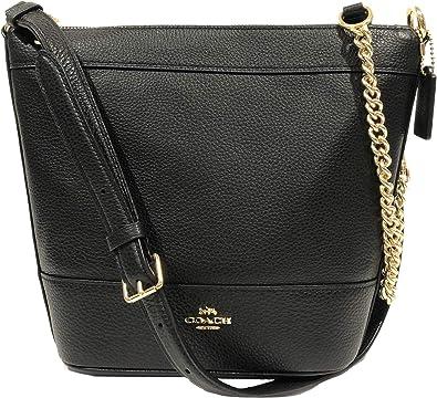 Signature Small Shoulder Bag BlackGold