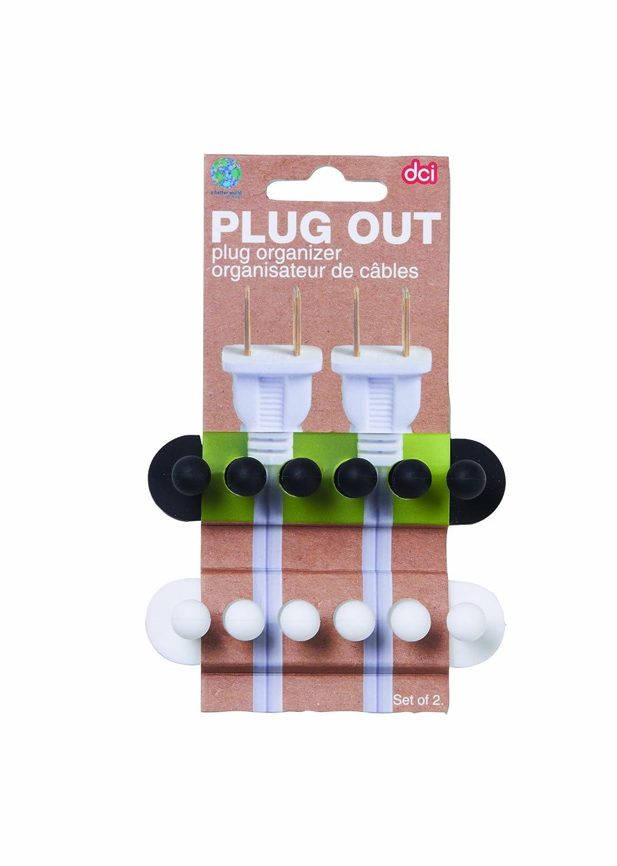 Amazoncom DCI Pug Out Plug Organizer Assorted Colors Set of 2