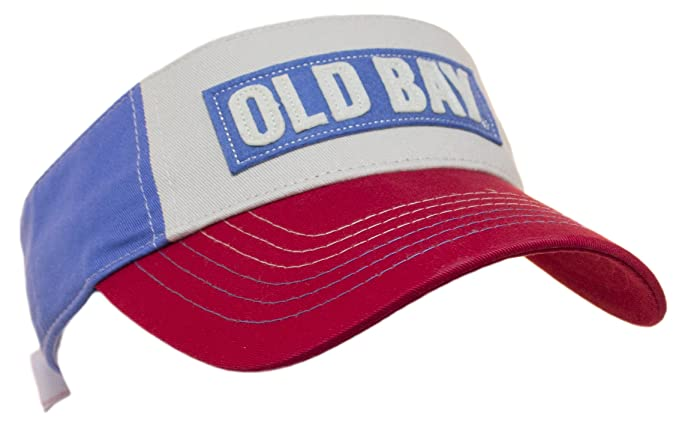 51ae5960af2f8 Image Unavailable. Image not available for. Color  Old Bay Classic Logo  Adjustable Visor