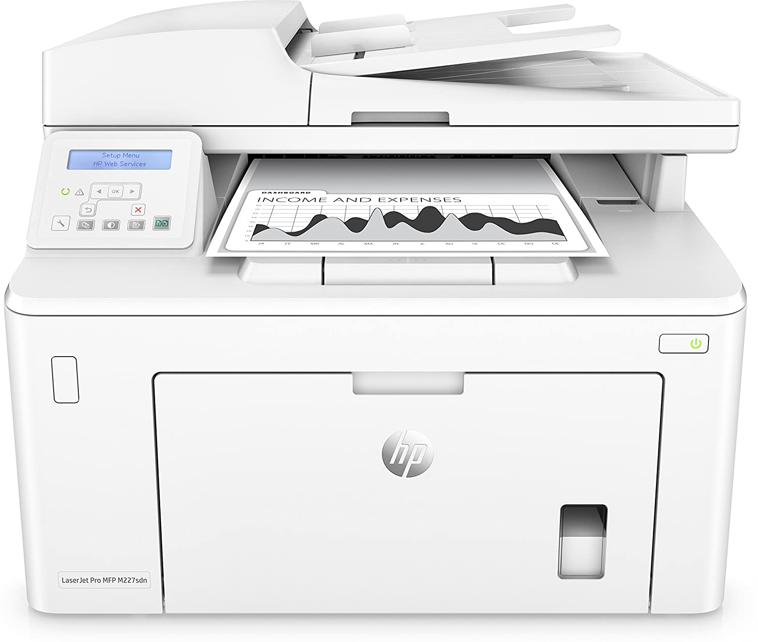 Buy Hp Laserjet Pro Mfp M227sdn Print Scan Copy Fax Comutronics Electronics Qa Duplex Network Online At Low Prices In India Reviews Ratings