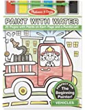Melissa & Doug Paint With Water - Vehicles, 20 Perforated Pages With Spillproof Palettes