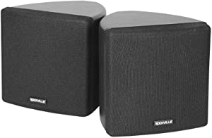 Cube by Rockville Cube Black Pair of 3.5