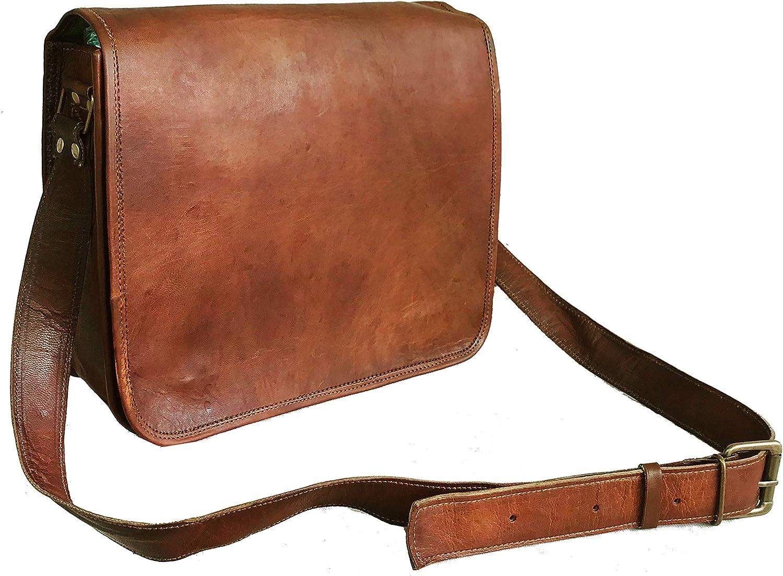 Computer shoulder bag Handmade leather messenger bag. Laptop bag