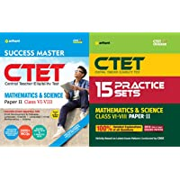 CTET Success Master Paper-II Teacher Selection for Class VI-VIII MATHS & SCIENCE with Practice set Arihant