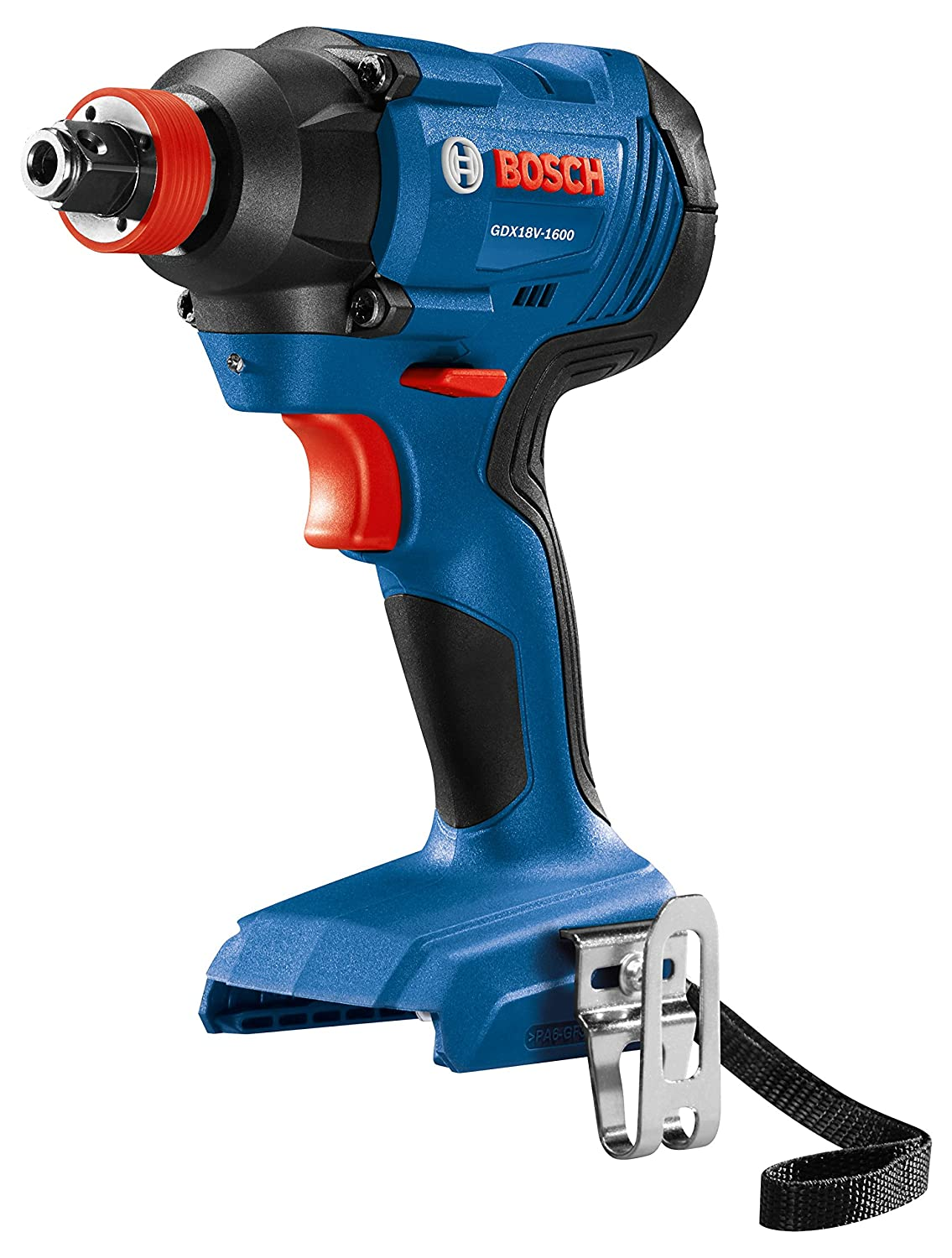 Bosch GDX18V-1600N 18V 1/4 & 1/2 Two-in-One Socket-Ready Impact Driver (Bare Tool)