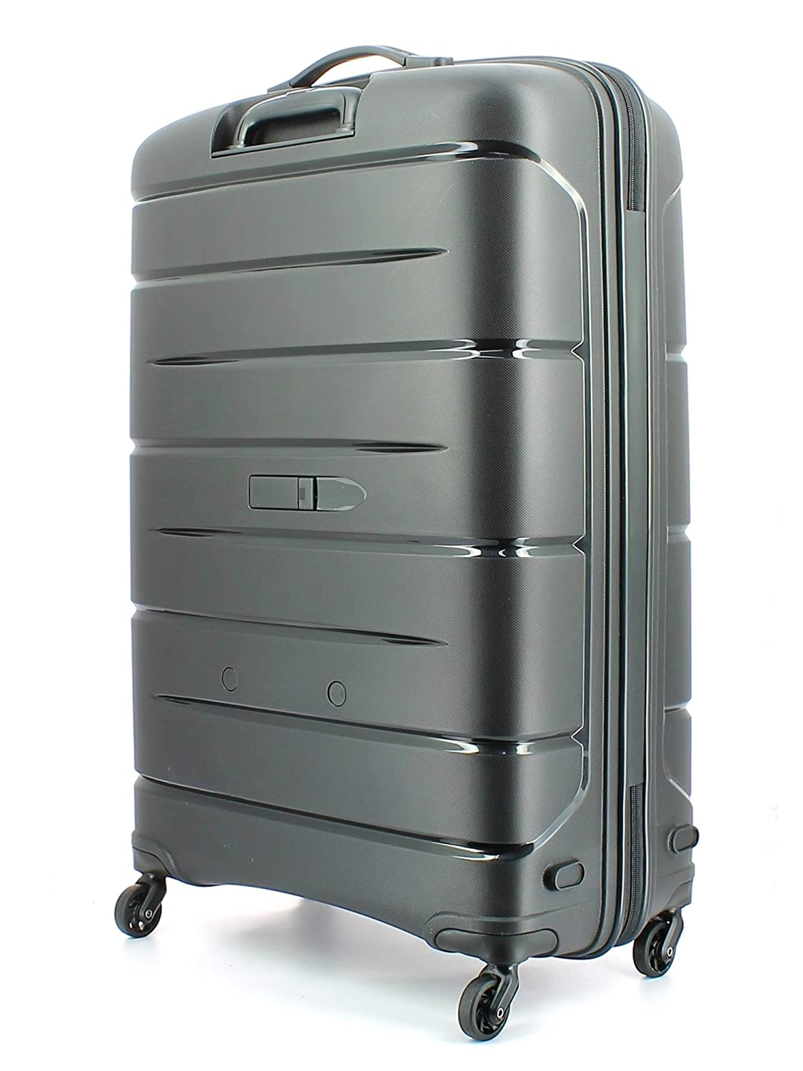 Luggage With Drawers Modo By Roncato Suitcase Trolley 4wheels 79cm Starlight Amazonco