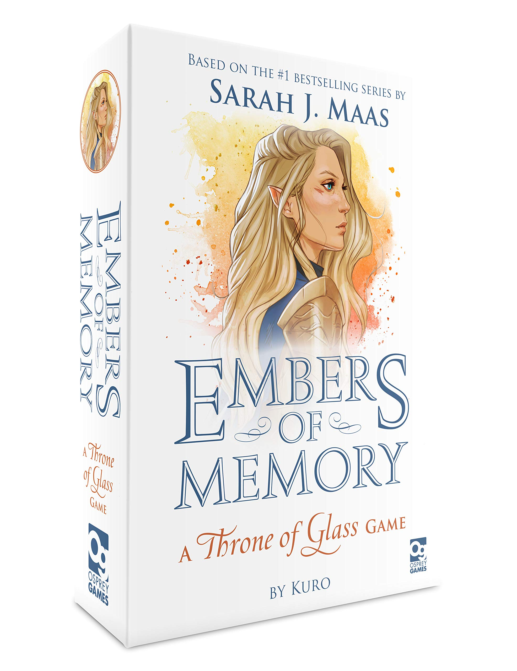 Embers of Memory: A Throne of Glass Game by Osprey Games