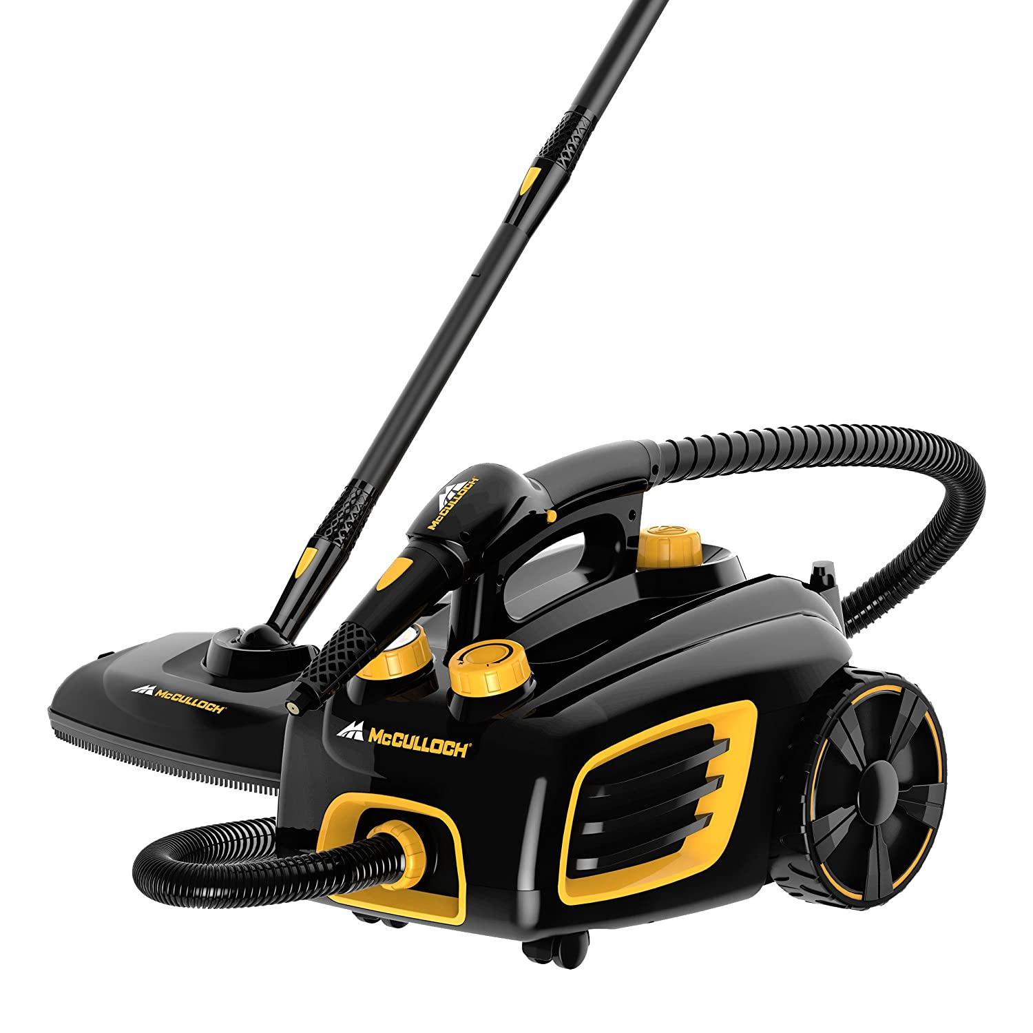 Amazon.com   McCulloch MC1375 Canister Steam System   Carpet Steam Cleaners