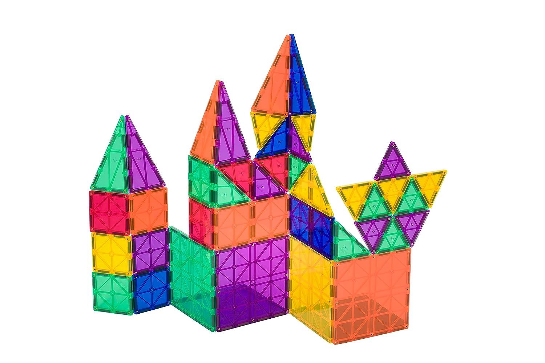 Conjunto de 50 + 6 piezas Playmags: ahora con imanes más fuertes ...