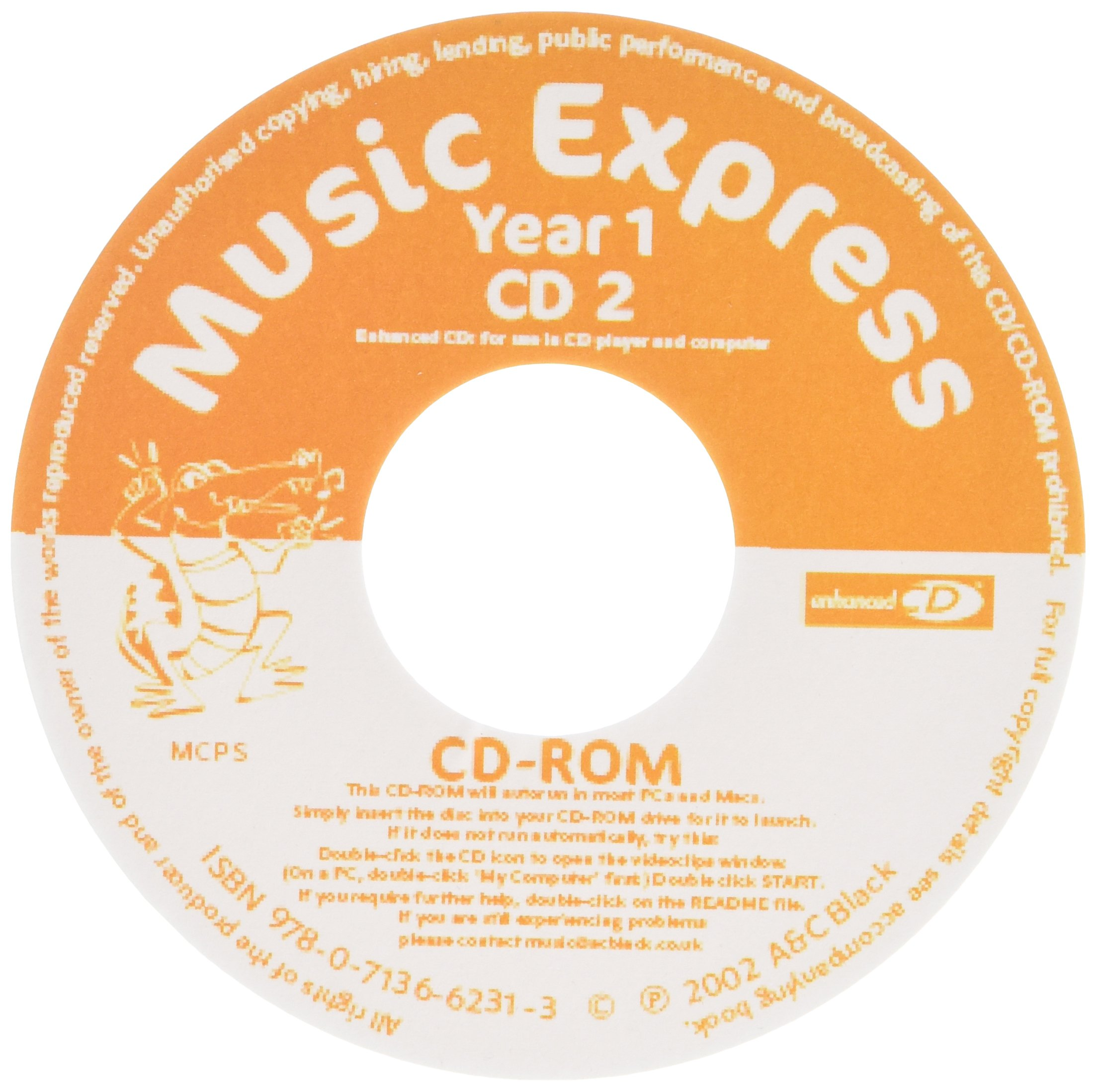 Music Express - Music Express Yr 1 Replacement CD2: Amazon