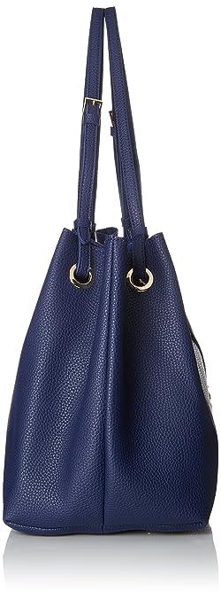 188752, Womens Shoulder Bag, Blue (Navy), 19x29x39 cm (B x H T) Buffalo