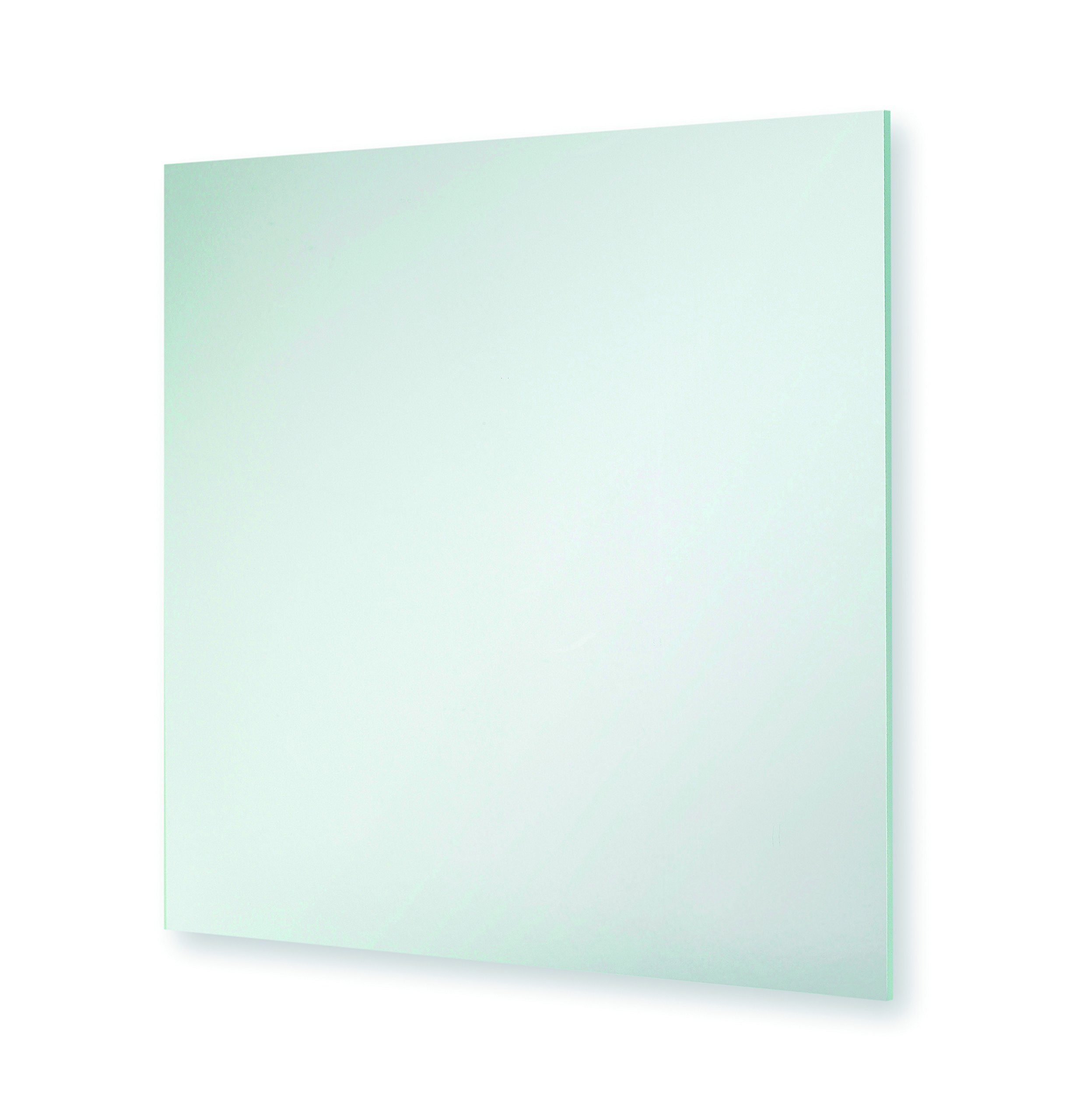 Bathroom Mantel Hall Round Square Cosmetic Shaving Mounted Mirror Frosted (Sqaure Plain 40cm x 40cm) by Blue Canyon